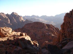 Mont Sinaï et monastère Sainte Catherine